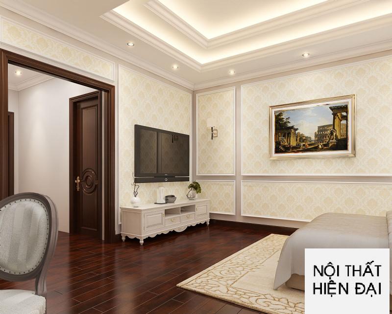 Interior design luxury 4-storey townhouse - Mr Dong