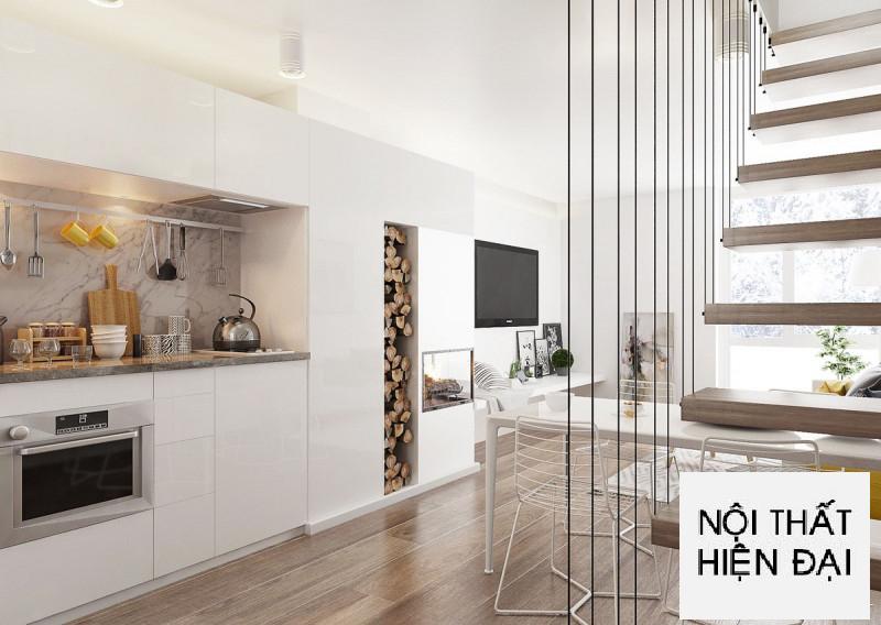 Thiết kế nội thất nhà liền kề tại thành phố Vũng Tàu - Chị Nhã