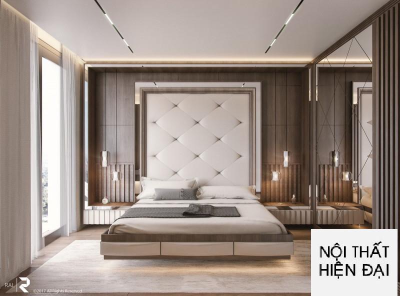 Lôi cuốn và hấp dẫn hơn với các phòng ngủ tân cổ điển được thiết kế nội thất cao cấp