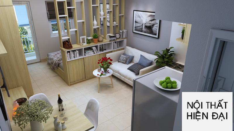 Thiết kế nội thất căn hộ anh Khanh tại Chung cư Phú Hòa