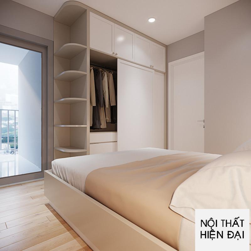 Thiết kế nội thất căn hộ 2 phòng ngủ La Premier Quận 2