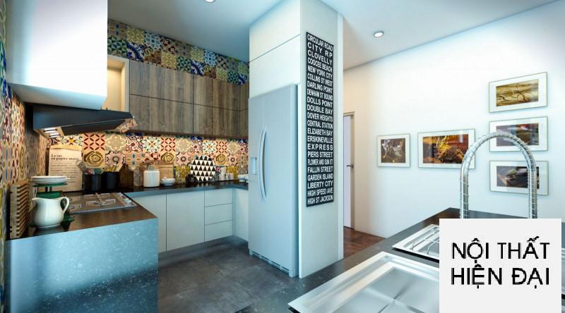 Thiết kế nội thất căn hộ cao cấp Sunrise City - Chị Lý