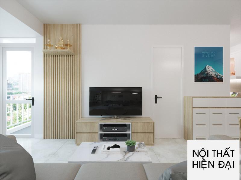 Thiết kế nội thất căn hộ Ehome Bình Chánh - Chị Linh