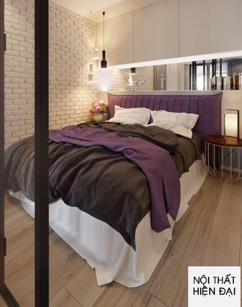 Thiết kế nội thất căn hộ một phòng ngủ Sunrise Tower