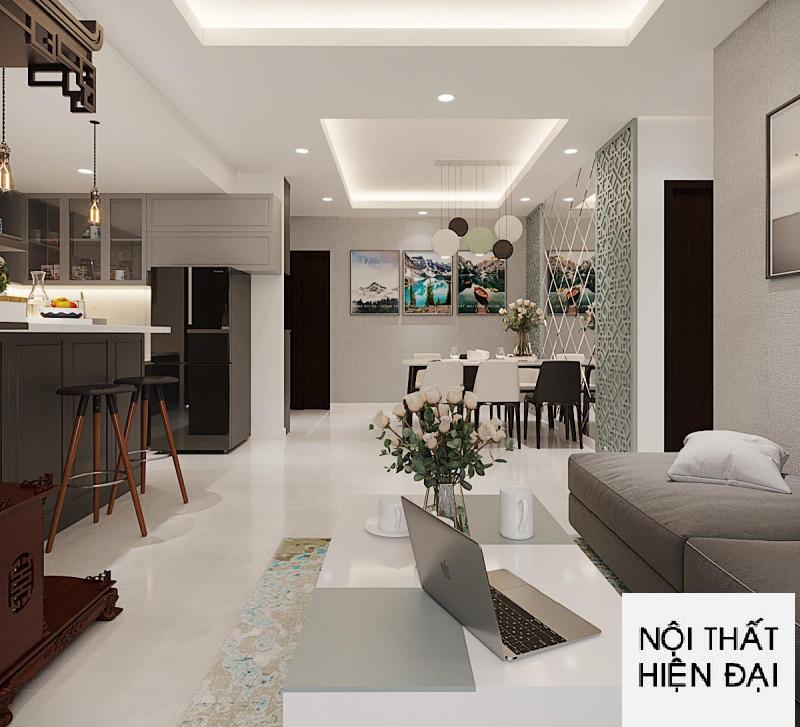 Thiết kế nội thất nhà chị Phương - Sunrise City Quận 7