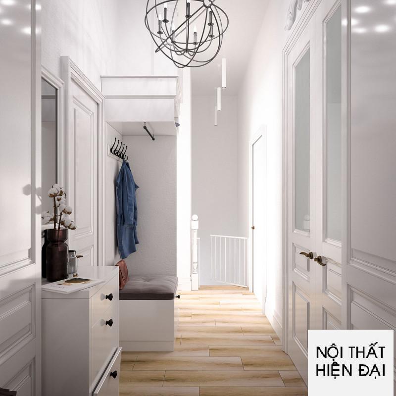 Thiết kế nội thất nhà phố phong cách Scandinavia