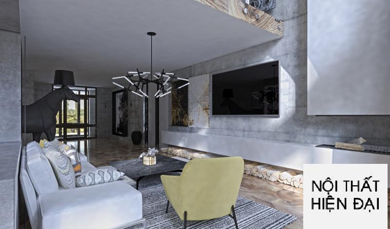Thiết kế nội thất nhà phố quyến rũ cho đôi bạn trẻ