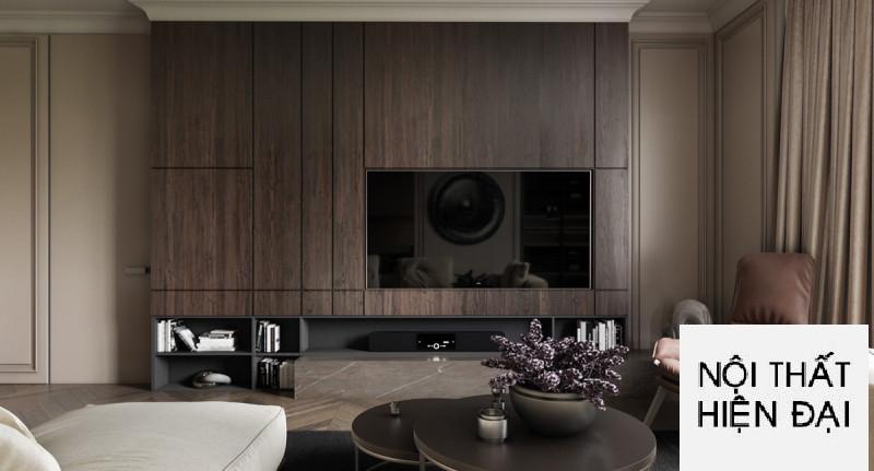 Thiết kế nội thất nhà phố sang trọng cho cuộc sống một mình.