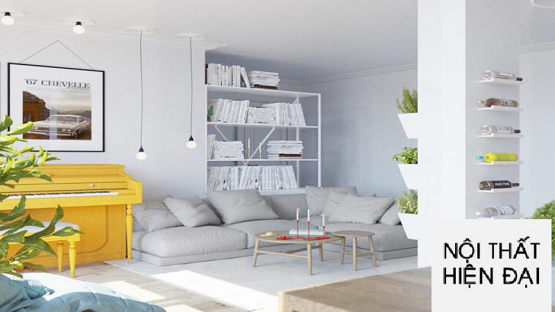 Thiết kế nội thất phong cách Scandinavian một cách hài hòa