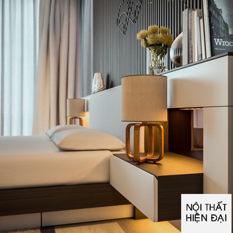 Thiết kế nội thất phòng ngủ nhà phố sang trọng