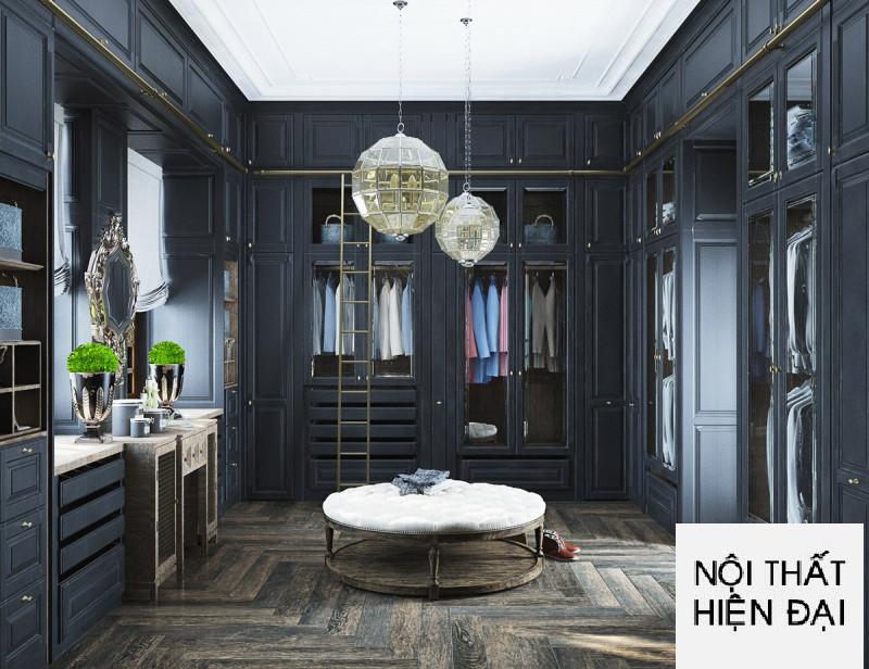 Thiết kế nội thất tân cổ điển sang trọng
