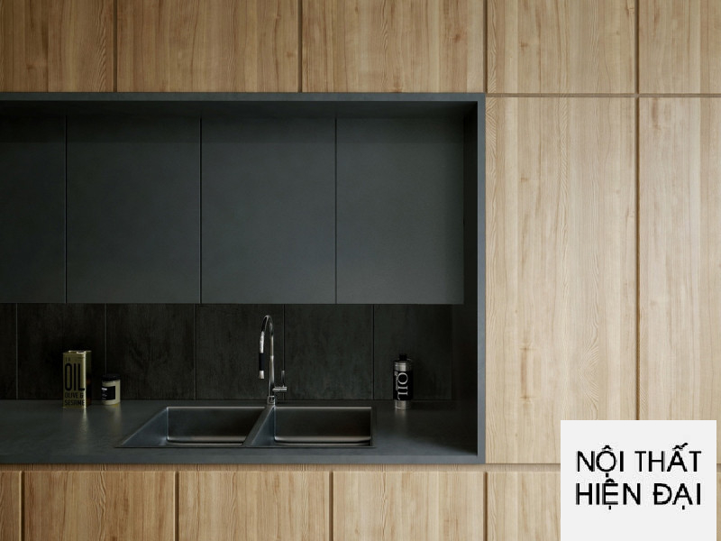 Thiết kế nội thất tầng sinh hoạt gia đình trong ngôi nhà
