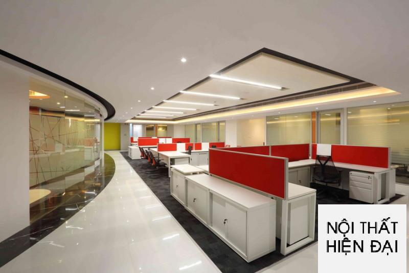 Thiết kế nội thất văn phòng cao cấp hiện đại