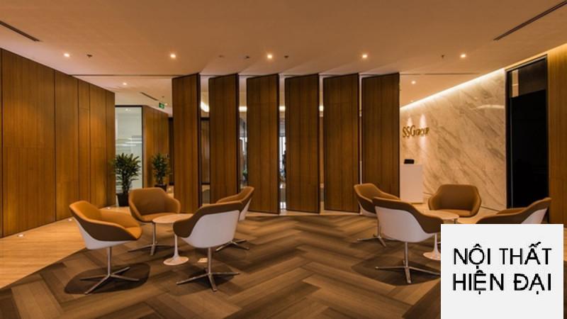 Thiết kế nội thất văn phòng SSG tại thành phố Hồ Chí Minh