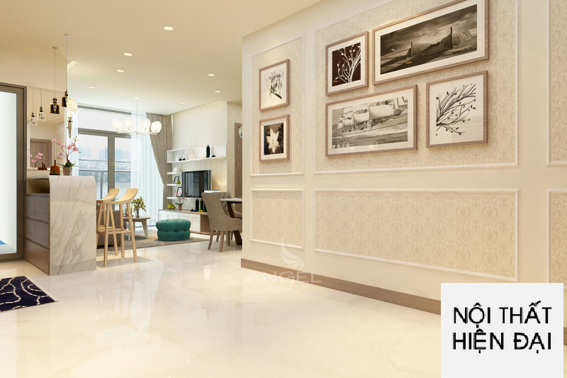 Thiết kế nội thất cao cấp Vinhomes 3 phòng ngủ - Ms Hương