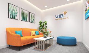 Văn phòng Ngân hàng Quốc tế VIB chuyên nghiệp