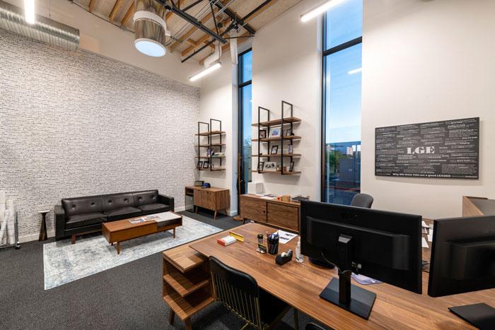 Thiết kế văn phòng làm việc với 5 khu vực chính