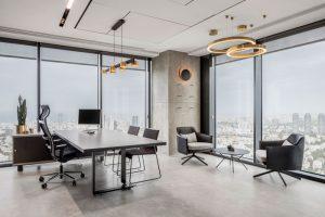 Thiết kế phòng quản lý trong công ty như thế nào?