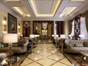 Cách thiết kế nội thất cổ điển cầu kỳ sang trọng đẳng cấp