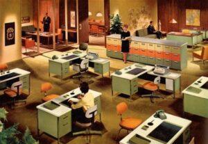 3 điểm đặc trưng của phong cách retro nội thất văn phòng
