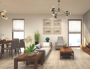 Gợi ý 6 cách bố trí bàn ghế gỗ phòng khách hiện đại