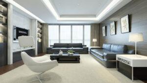 Mẫu thiết kế chung cư đẹp nhà anh Thanh với tông màu sáng